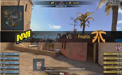 CSGO官方网站 Navi vs Fnatic PGL Major 7.19