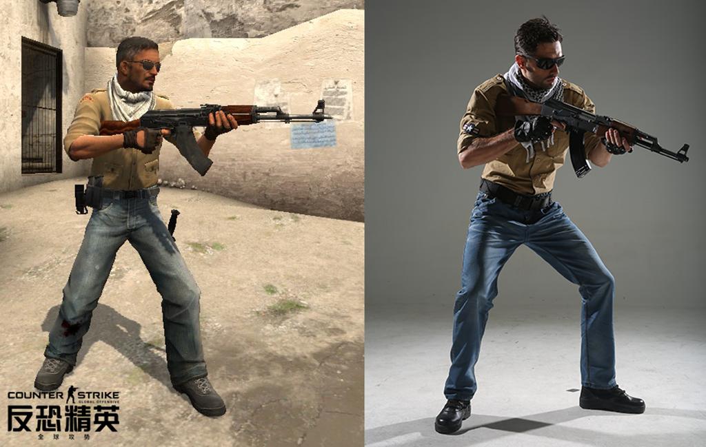 图片: 图3-力求还原游戏角色的真人拍摄方式.png